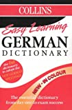 Collins Easy Learning German Dictionary (Collins Easy Learning German)