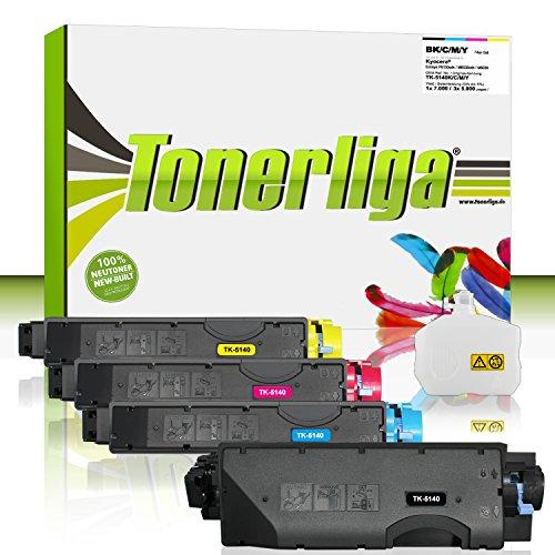Preisvergleich Produktbild Neu Toner Set ersetzt Kyocera TK-5140 für Ecosys P6130cdn / M6530cdn / M6030cdn, 100% Neuware