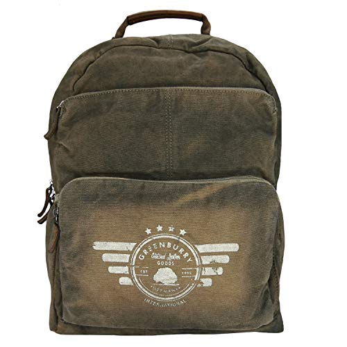 Greenburry Vintage Aviator Rucksack 43 cm Laptopfach