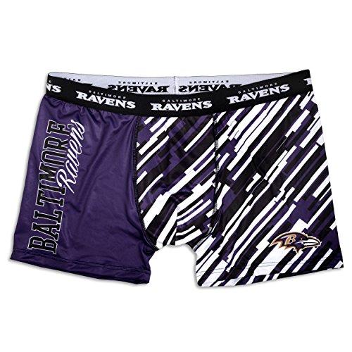 FOCO NFL Wordmark Underwear, Herren, NFL Wordmark Underwear, Teamfarbe, Medium
