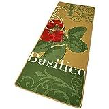 HANSE Home 102081 Teppichläufer, Polyamid, grün, 67 x 180 x 0.8 cm