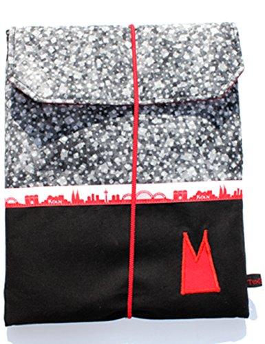 texbagsr-tablethulle-gross-aus-stoff-in-einer-kombination-aus-grauem-wurfelmuster-mit-schwarzem-uni-