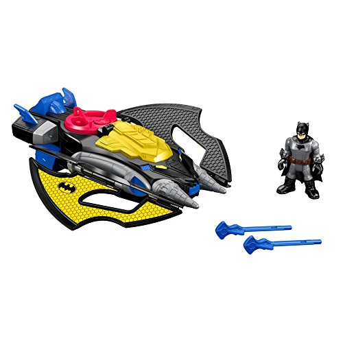 Fisher-Price - DFX82 - Imaginext - DC Super Friends - Batwing - Véhicule + Mini Figurine