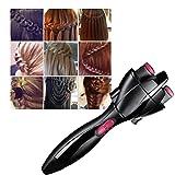Cuhair - Accessoire/appareil de coiffure à quatre têtes pour tresser les cheveux