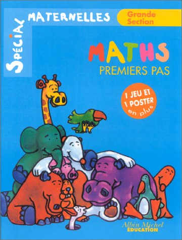 Maths premiers pas - Grande section