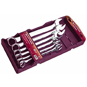 Kraftwerk-3559-6 pzs.Set clés mixtes 34-50 mm
