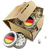 FAN MINT | 2er Set Pfefferminz Bonbons mit Deutschland Fahne | Fußball Fanartikel 2019 Deutschland