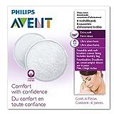 Philips Avent SCF155/06 Waschbare Stilleinlagen, 6 Stück mit Waschmaschinen-Beutel