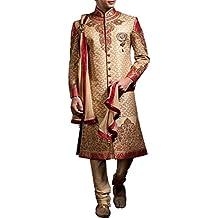 inmonarch Ultimate Look Brokat Hochzeit Sherwani sh3567