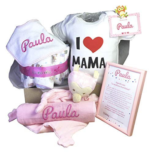 MabyBox Happy Mummy | Canastilla bebe Personalizada | regalo original