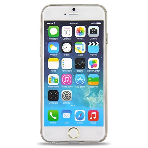Phone case & Hülle Für iPhone 6 / 6S, Ultra-dünnen Blumenmuster Soft TPU Schutzhülle ( Color : Yellow ) Yellow