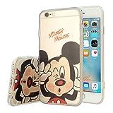 Apple iPhone 6/ 6s Étui HCN PHONE Coque silicone TPU Transparente Ultra-Fine Dessin animé jolie pour Apple iPhone 6/ 6s - Mickey Mouse