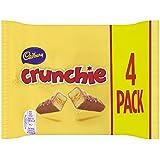Cadbury Crunchie Chocolate Bar, 4 x 32g
