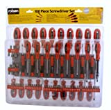 Rolson Tools 28890 Screwdriver and Bit Set - 100 Pieces