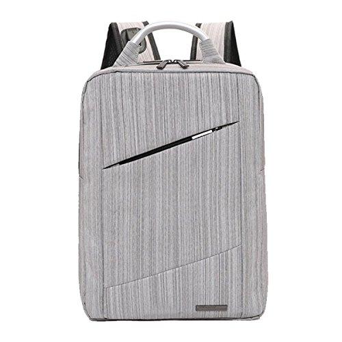 Hommes Sac à Dos D'affaires Sac De Charge USB Sac à Main Sac D'ordinateur Portable De 14 Pouces Sac Occasionnel Tendance Sac D'étudiant 11.42 * 5.12 * 15.75inch