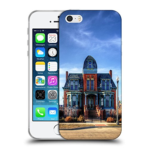 Super Galaxy Coque de Protection TPU Silicone Case pour // F00040132 casa antigua restaurada // Apple iPhone 5 5S 5G SE