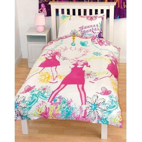 hannah-montana-gem-girls-reversible-single-bed-duvet-quilt-cover-bedding-set-new