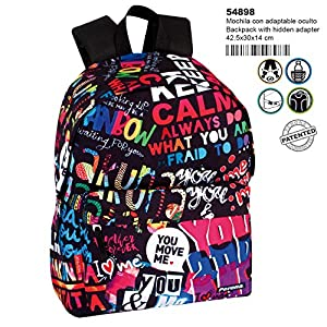 Mochila Perona You & Me 42cm Adaptable