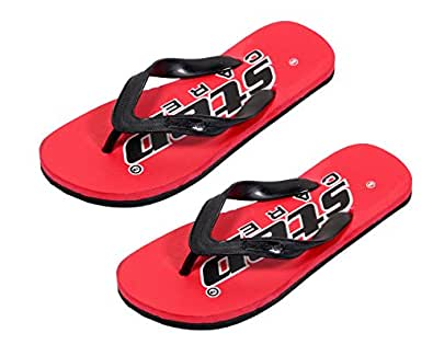 Indistar Stylish Comfortable Flip flop House Slippers For Men(Pack of 2 Pairs)