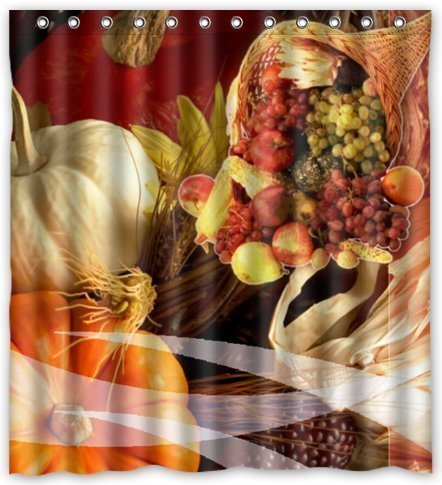 lawrence-custom-fruits-harvest-on-thanksgiving-waterproof-bathroom-fabric-shower-curtain-with-rings-