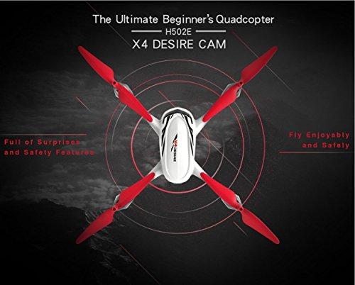 Hubsan H502E X4 Desire Pro Quadrocopter 5.8 Ghz Drohne mit 720P HD Kamera RTH-Funktion und Altitude-Hold Modus - 4