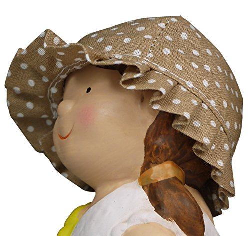 "khevga Gartenzwerg 2er Set aus Terrakotta-Keramik ""Hänsel und Gretel"" - 5"