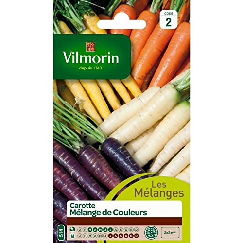VILMORIN CAROTTE MÉLANGE DE COULEURS