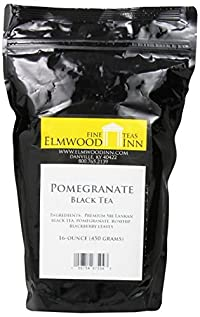 Elmwood Inn Fine Teas, Pomegranate Black Tea, 16-Ounce Pouch