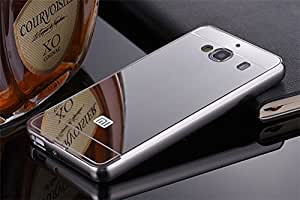 Kapa Luxury Mirror Effect Acrylic back + Metal Bumper Case Cover for Redmi 2 / Redmi 2 Prime - Silver