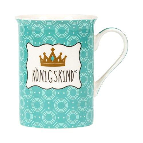 °*8625 Neue Serie Königskind® (Tasse) - Krone Logo Tee