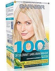 Garnier - 100% Ultra Blond - Décoloration sans ammoniaque - Décolorant Sans Ammoniaque