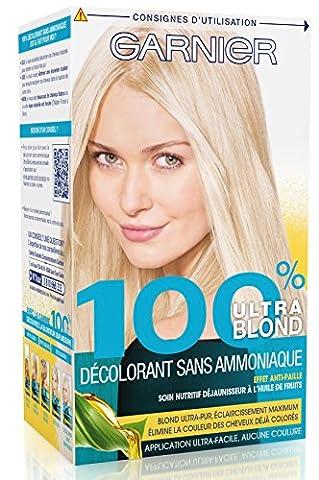 Garnier - 100% Ultra Blond - Décoloration sans ammoniaque -