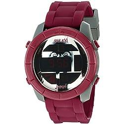 Steve Aoki Men's SA 2005 RD Steve Aoki Digital Display Japanese Quartz Red Watch