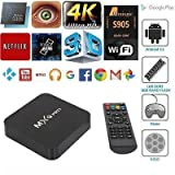 #9: TRUE STORE MXQPRO Quad Core Google Android ULTRA HD 4K TV Box with wifi LAN Android 6.1 Smart TV Box(Make Your Normal LED TV into Smart TV . code 55