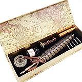 GC Kalligraphie-Stift-Set - Luxus Dip Pen und Tinte Set mit 5 Spitzen,...