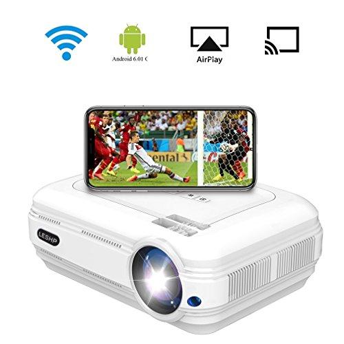 AgoHike Full HD Beamer LESHP HD LED Projektor im Test