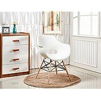 pn homewares chaise en plastique dinspiration rtro olivia eiffel pour salle manger
