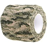 Electomania 1 Piece Camo Gun Barrel Scope Concealment Stealth Tape Wrap (Woodland camo)