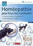 Homéopathie pour les ruminants...