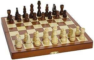 Smir - Juego completo de ajedrez, 2 jugadores (509350) Importado