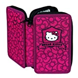 Undercover HKGU0430 - Hello Kitty Double Pencil Case with Stabilo Brand Filling