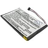 CS-IQN370SL Batteria 1200mAh compatibile con [GARMIN] Nuvi 3700, Nuvi 3760, Nuvi 3760T, Nuvi 3790, Nuvi 3790T sostituisce 361-00046-02, 361-00064-02, EE06HE10E00EF
