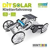 MKZDGM Mint (STEM) 4WD Auto DIY Klettern Fahrzeug Motor Auto Hoowoo Lehrreiches Solarfahrzeug für Kinder, Montage Geschenk Spielzeug Schaltung Bauprojekte Wissenschaftliches Experiment