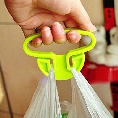 5Stück Einkaufstasche Halter–Tragbar Aufhängen Taschen Halter Gemüse Tasche Haken Gerät sparen für Küche Gadgets Carry Einkaufstaschen–Größe 9cm x 5cm–RADOM - Und-geräte Küchen-gadgets