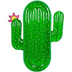 FLy Protección del Medio Ambiente PVC Inflable Cactus Fila Flotante Fábrica Suministros De Agua Directos Cactus Montaje Cama Flotante Fila Flotante Inflable