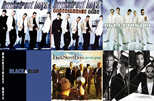 Quilt-cd (Backstreet Boys: Classic Hits 6 Studio Albums Collection Complete 1996-2007 Discography (Millennium / Black and Blue / Never Gone and More))