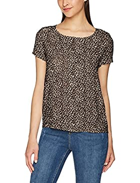 Only Onlfirst SS Mix AOP Top Noos Wvn, Camicia Donna