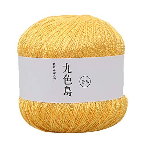TwoCC-Wolle, unverzichtbare Packung mit weichen Wollbällen-Handmade Lace Line DIY Wool-Ideal für alle Strick-und Häkelprojekte