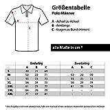 Männer und Herren Polo Shirt Feuerwehr Ein Leben lang (mit Rückendruck) Größe S - 10XL