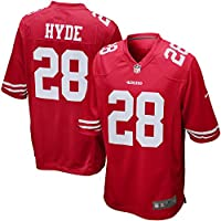 Nike SMALL Men's SAN FRANCISCO 49ers Home Game Jersey (Carlos Hyde)